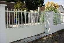 Portail coulissant et clôture MIKADO
