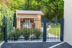 Portillon et clôture MIKADO 1