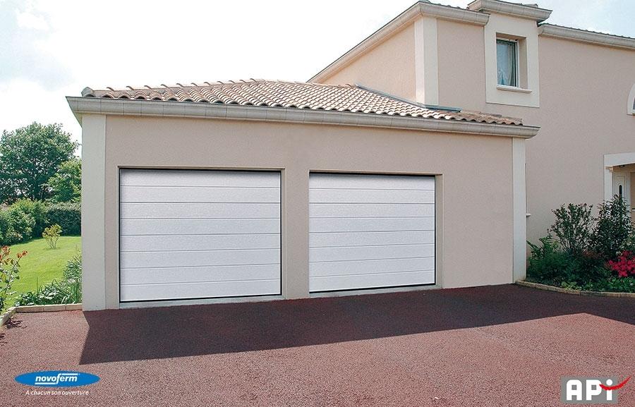 Iso 45 api 44 portail motorisation porte de garage for Portail de garage novoferm