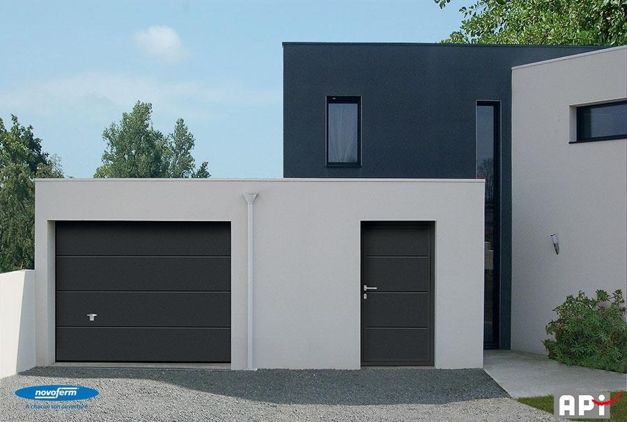 iso 45 api 44 portail motorisation porte de garage. Black Bedroom Furniture Sets. Home Design Ideas
