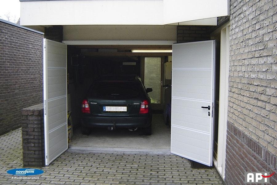 Novoferm gamme duoport api 44 portail motorisation for Installateur porte garage novoferm