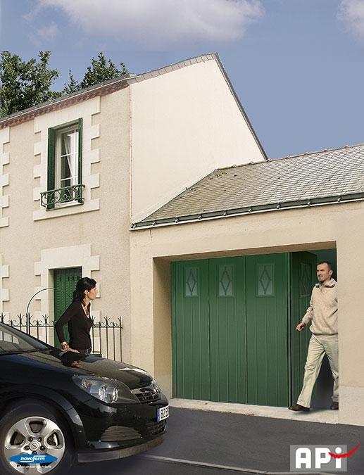 Novoferm gamme novoside api 44 portail motorisation for Motorisation portail de garage