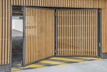2 Porte pliante TWIN habillage bois (2)