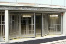 6 Porte pliante TWIN 4 vantaux barreaudée