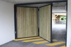 11 Porte pliante TWIN habillage bois
