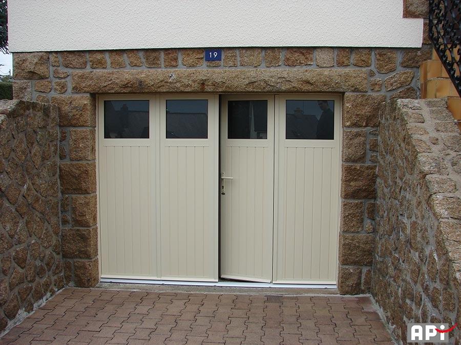Sib gamme 3 et 4 vantaux api 44 portail motorisation for Portail garage sur mesure
