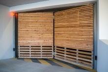 5 Porte pliante TWIN habillage bois